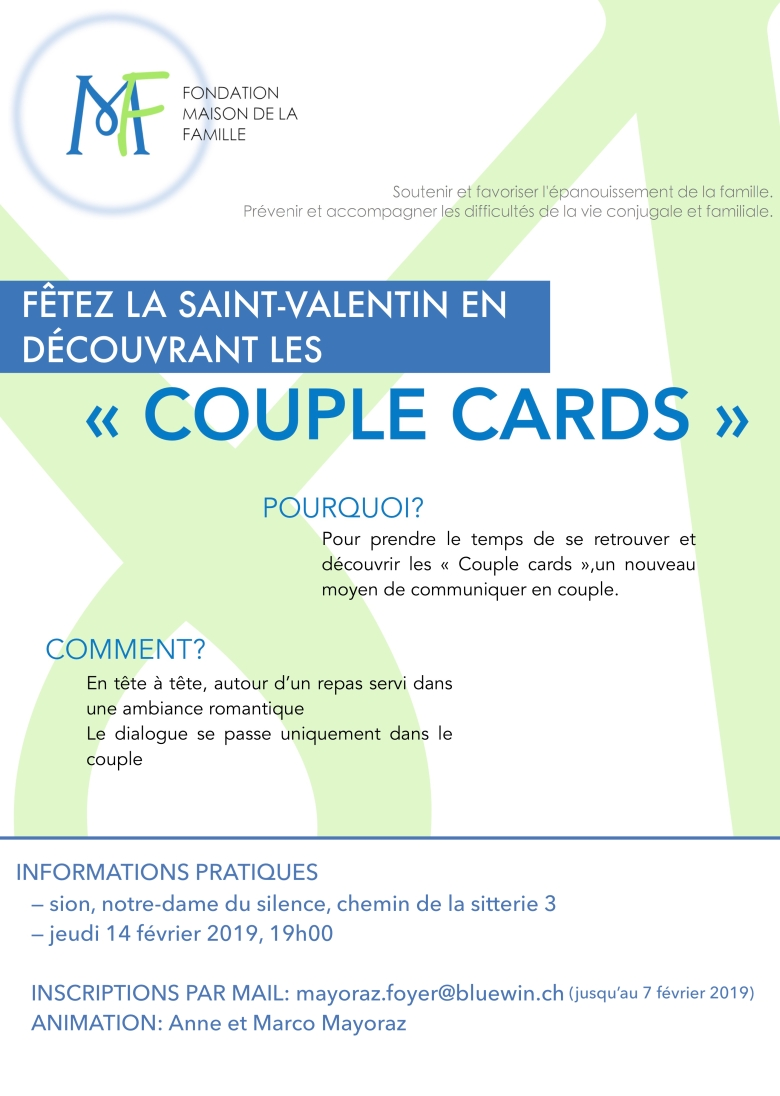 COUPLE CARDS 22.08.2018