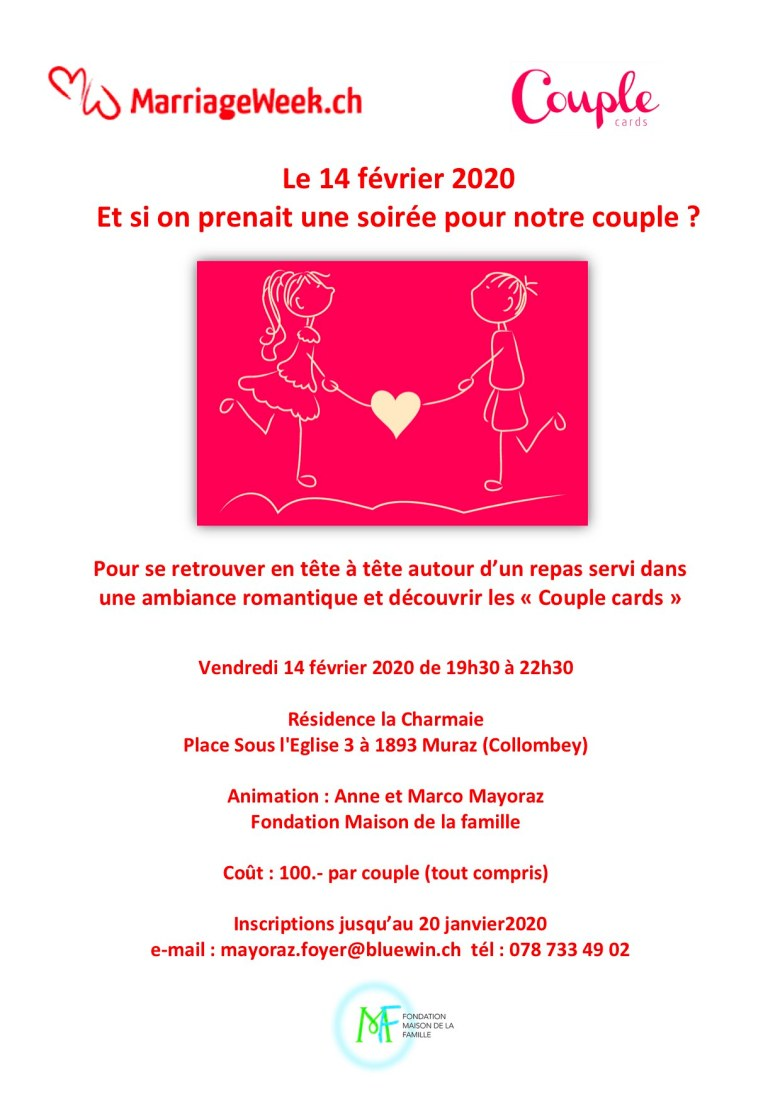 Affiche couple cards 2020